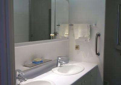 Ancienne salle de douche