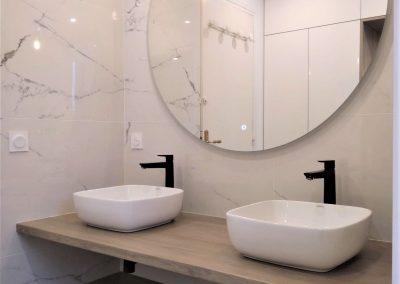 Nouvelle double vasque