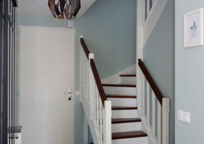 L'escalier terminé