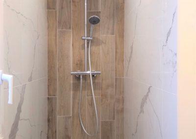 La nouvelle douche