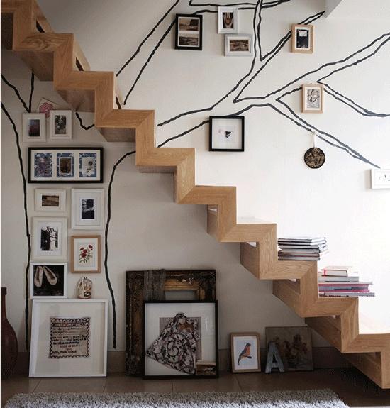 Mise en scène originale - Escalier