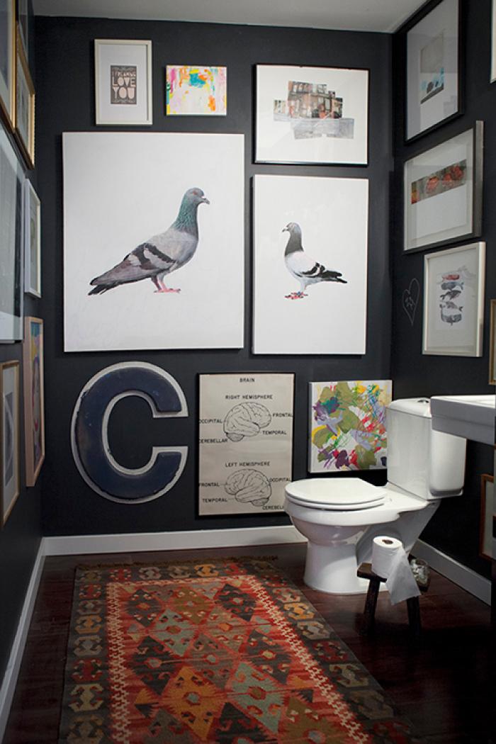 Agencement tableaux toilettes